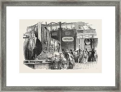 The Great Exhibition, Crystal Palace, Hyde Park Framed Print