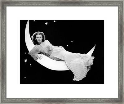 The Heavenly Body, Hedy Lamarr, 1944 Framed Print by Everett
