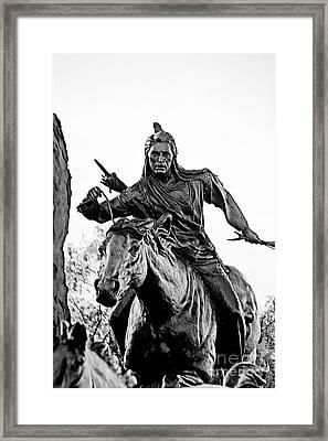 The Horseman Framed Print by John Langdon