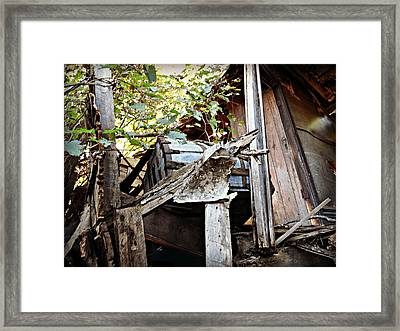 The Hurrys Homestead  Framed Print