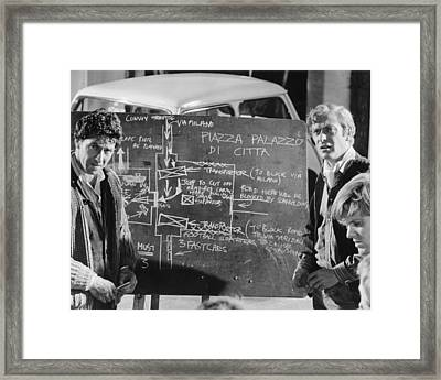 The Italian Job Framed Print by Silver Screen