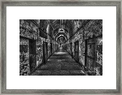 The Long Walk Framed Print by Arnie Goldstein
