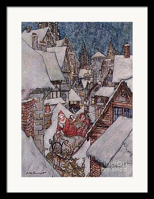 Rackham Framed Prints
