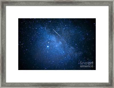The Night Sky Framed Print