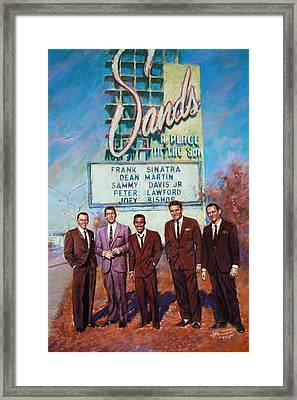 The Rat Pack Framed Print