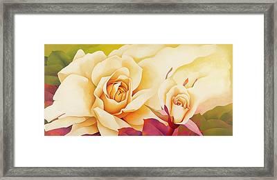 The Rose, 2001 Oil On Canvas Framed Print