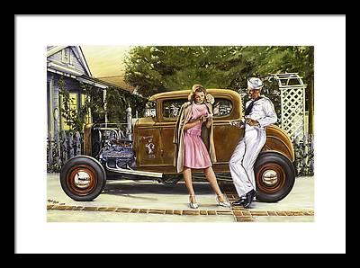 Nostalgia Framed Prints