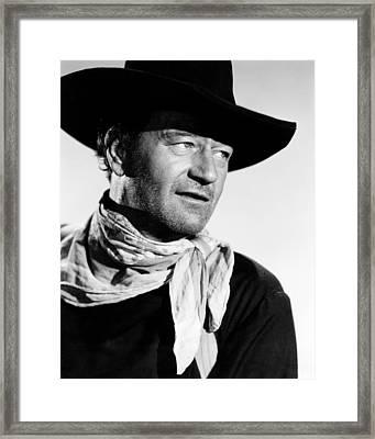 The Searchers, John Wayne, 1956 Framed Print