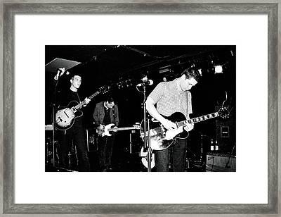The Walkmen Framed Print