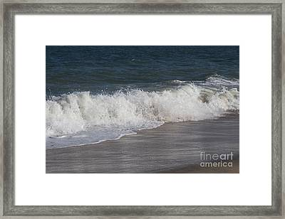 The Wave Framed Print by Arlene Carmel