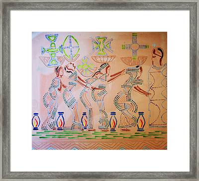 The Wise Virgins Framed Print by Gloria Ssali