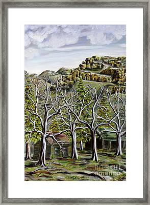 Then And Now A New Beginning Framed Print by Linda  Steine