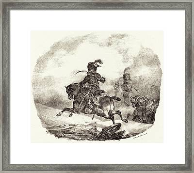 Théodore Gericault French, 1791 - 1824 Framed Print by Quint Lox