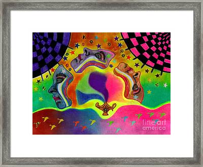 Three Wishes Framed Print by Christine Perry