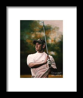 Golf Framed Prints