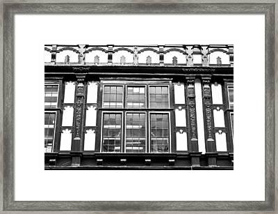 Timber Building Framed Print