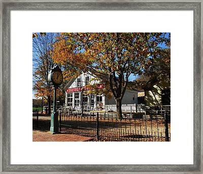 Time Stood Still Framed Print by Mel Steinhauer