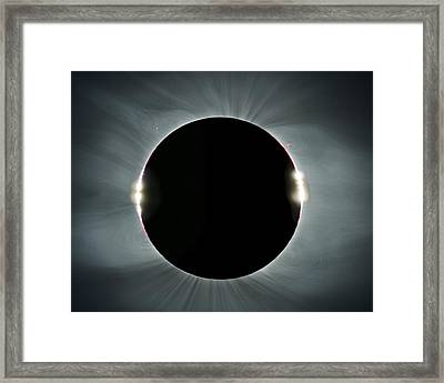Total Solar Eclipse Framed Print by Juan Carlos Casado (starryearth.com)