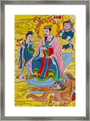 Tradition Chinese Painting Framed Print by Tosporn Preede