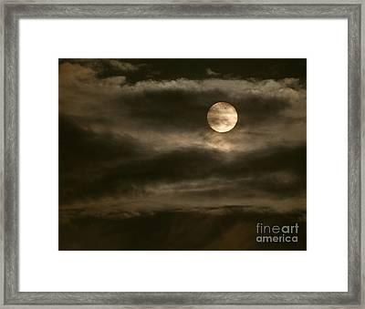Transit Of Venus, 2012 Framed Print