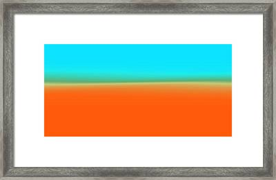 Travelling Through Paradise Framed Print by Sir Josef - Social Critic -  Maha Art