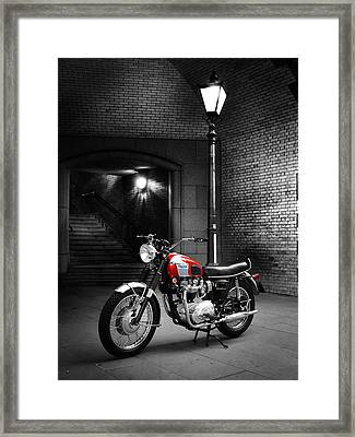 Triumph Bonneville T120 Framed Print by Mark Rogan