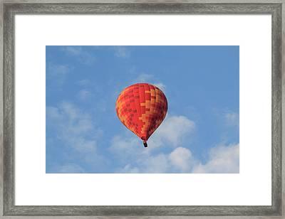 Turkey, Anatolia, Cappadocia, Goreme Framed Print