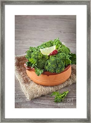 Turnip Tops Framed Print by Sabino Parente