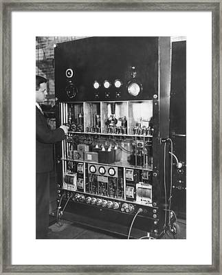 Tv Pioneer Ulises Sanabria Framed Print