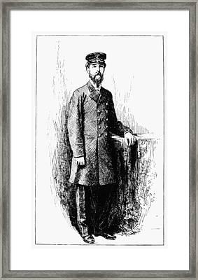 Twain Mississippi, 1883 Framed Print by Granger