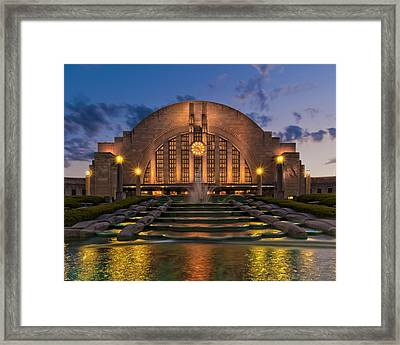 Union Terminal Framed Print