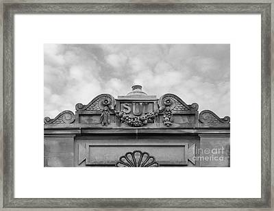 University Of Iowa  Framed Print