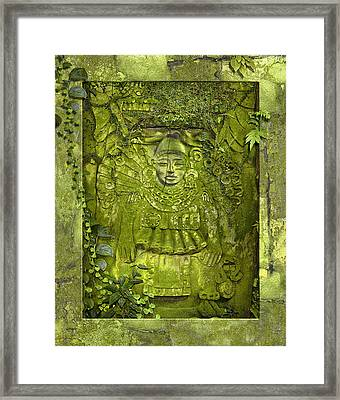 Unknown God Framed Print by Ron Morecraft