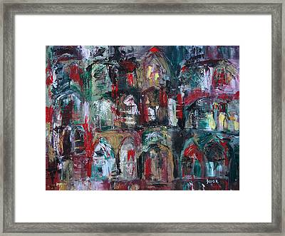 Unknown Location Framed Print by Oscar Penalber