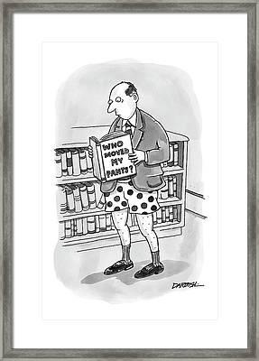New Yorker December 26th, 2005 Framed Print