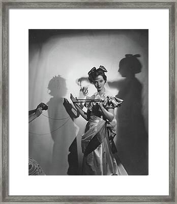 Vogue  Framed Print