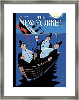 New Yorker August 15th, 2011 Framed Print