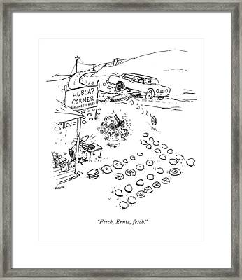 New Yorker September 7th, 2009 Framed Print by George Booth