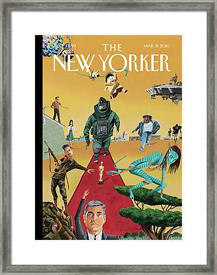 New Yorker March 8th, 2010 Framed Print