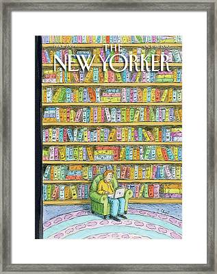 New Yorker October 18th, 2010 Framed Print