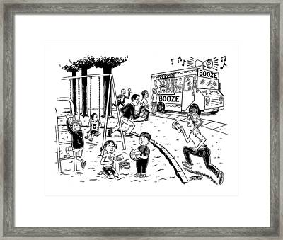 New Yorker July 21st, 2008 Framed Print by Ward Sutton