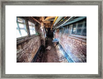 Urban Decay - Saint Elizabets  Framed Print by Dem Wolfe