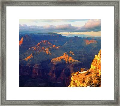 Usa, Arizona, Grand Canyon National Framed Print