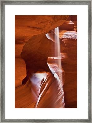 Usa, Arizona, Upper Antelope Canyon Framed Print
