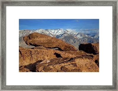 Usa, California, Bishop Framed Print
