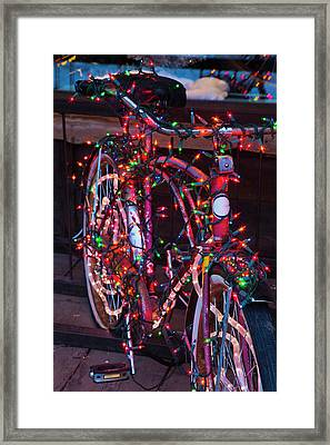 Usa, Colorado, Crested Butte, Elk Framed Print by Walter Bibikow