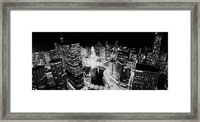 Usa, Illinois, Chicago, Chicago River Framed Print by Panoramic Images