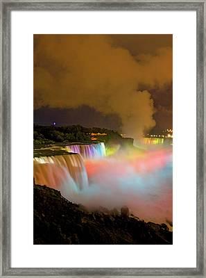 Usa, New York, Niagara Falls Framed Print by Jaynes Gallery