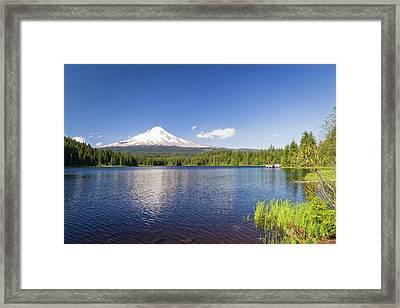Usa, Oregon, Hood River County Framed Print