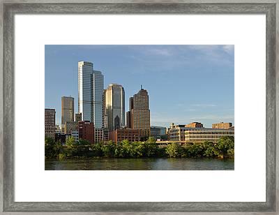Usa, Pennsylvania, Pittsburgh Framed Print by Kevin Oke
